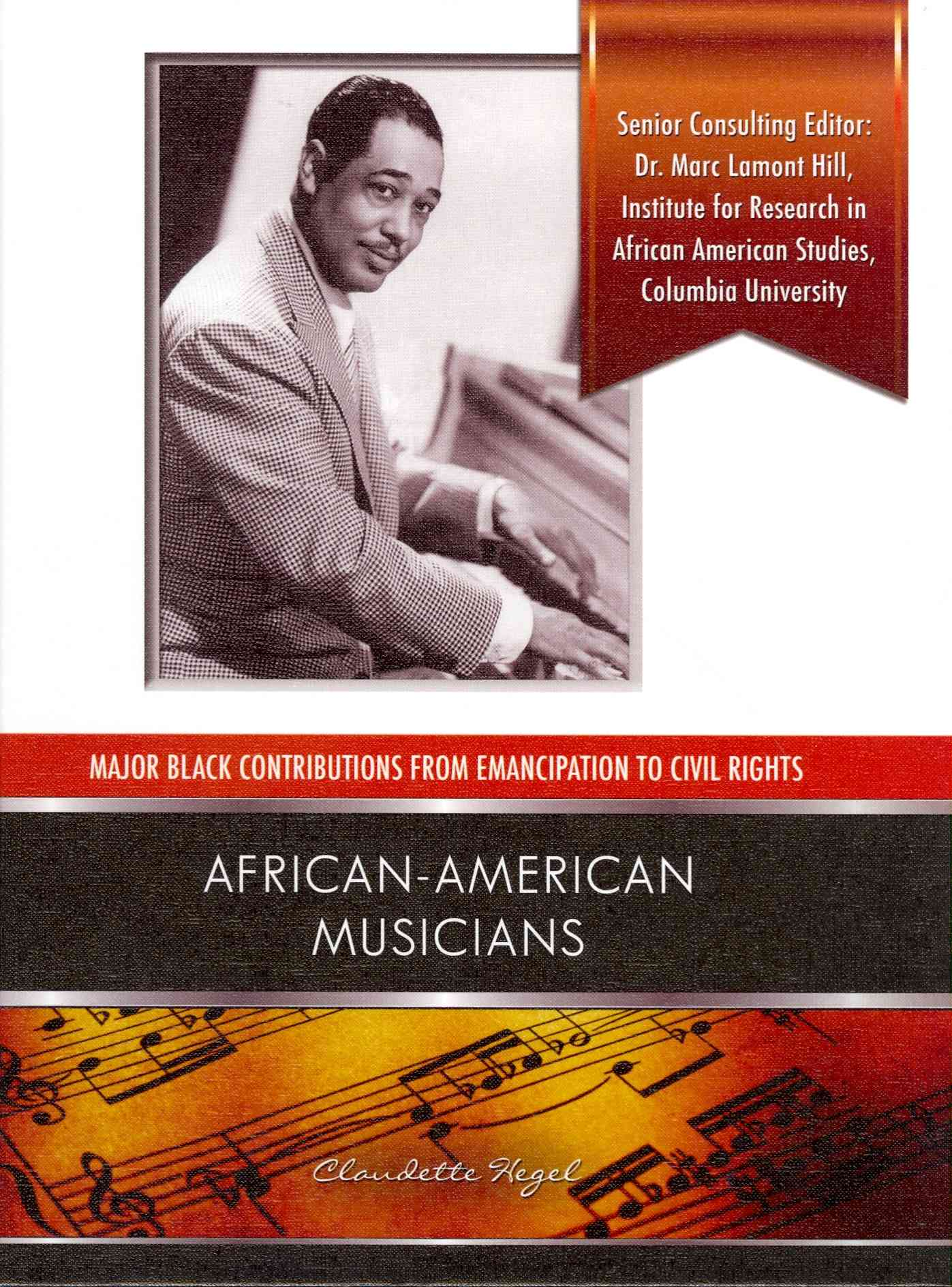 African American Musicians By Hegel, Claudette
